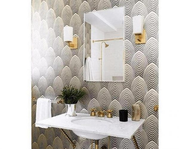 wallpapered-bathroom-walls